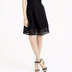 J Crew Striped Eyelet Skirt - Like New!
